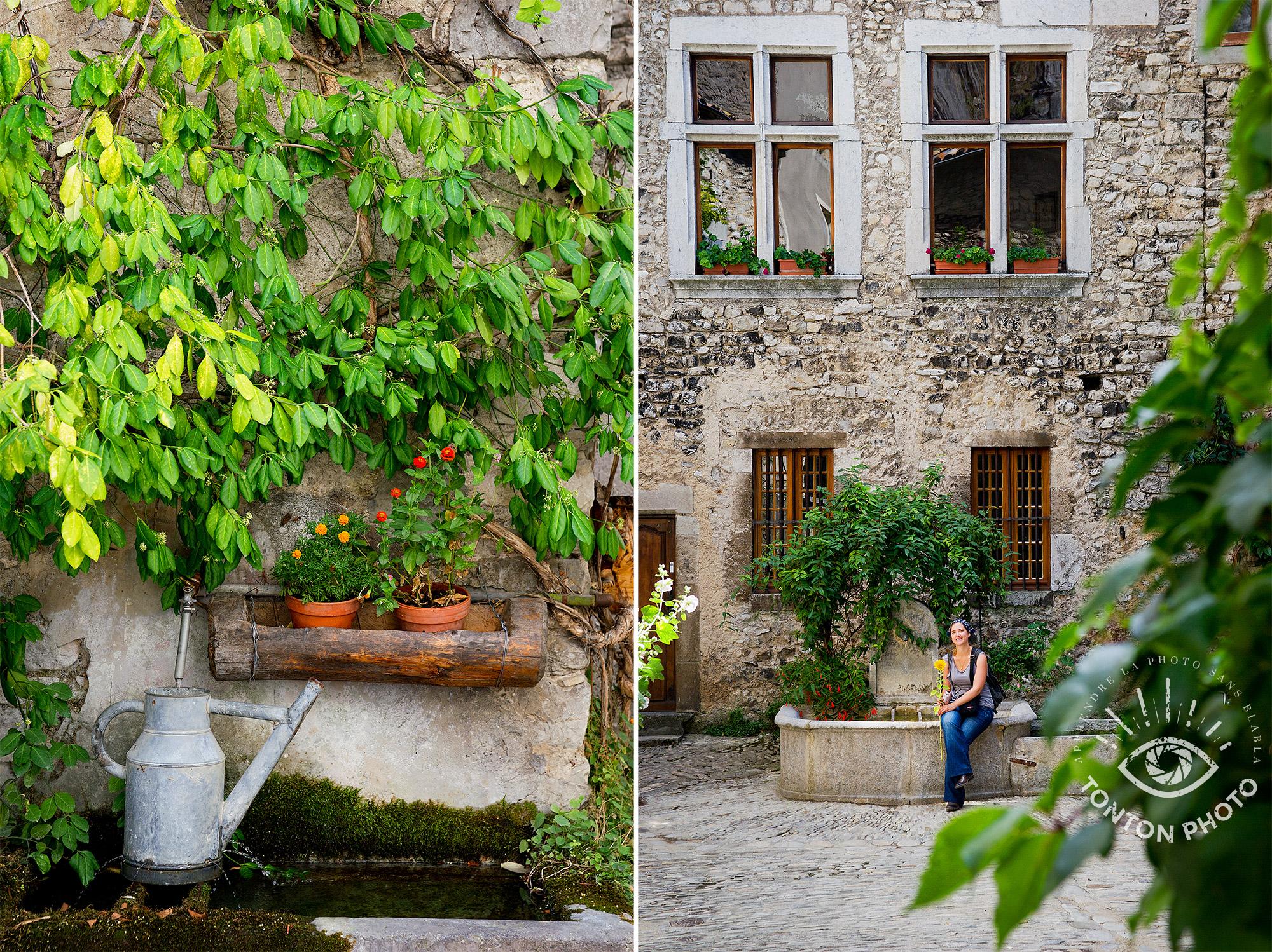 """Châtillon-en-Diois, l'un des nombreux villages labellisés """"Plus beau village de France"""" de la Drôme © Clément Racineux / Tonton Photo"""