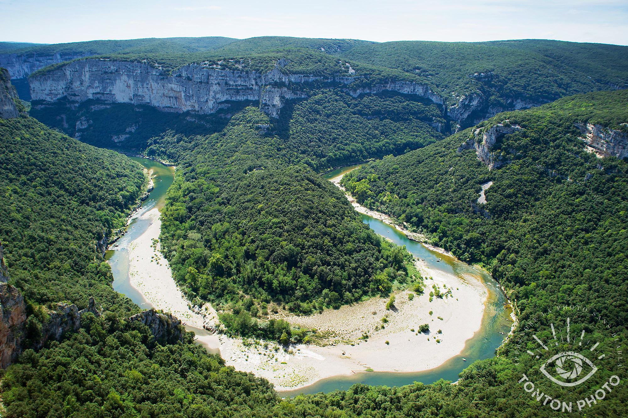 Les gorges de l'Ardèche ! © Clément Racineux / Tonton Photo
