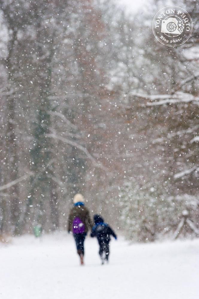 La neige, source de créativité photo : jouez sur la netteté pour mettre en valeur la neige ! © Clément Racineux / Tonton Photo