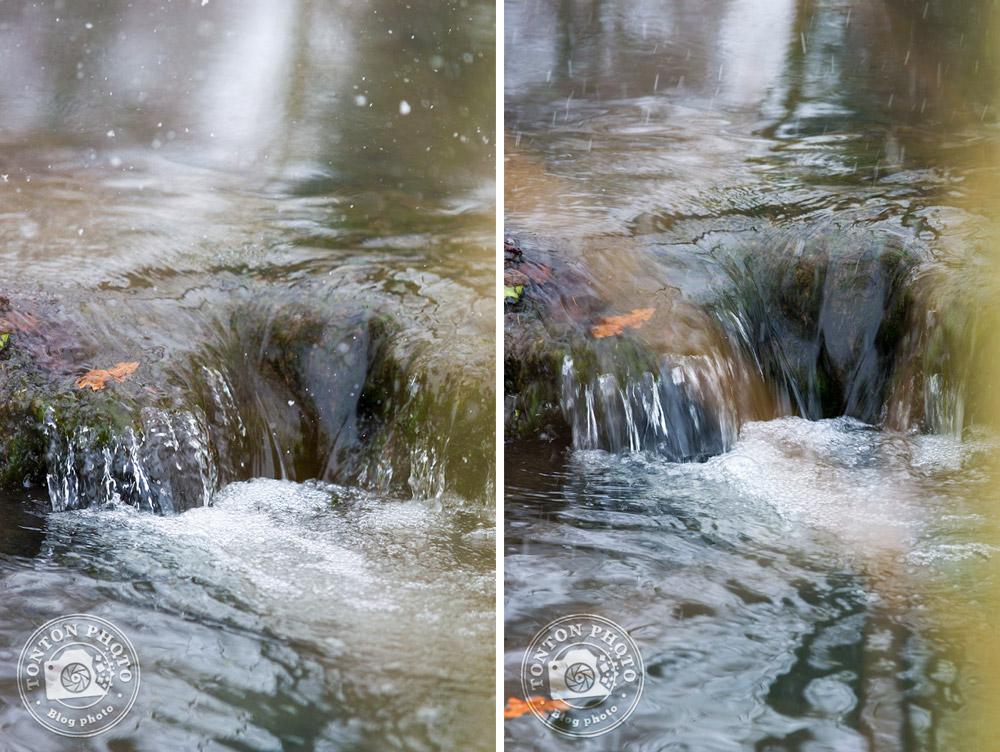 Comment photographier la neige ? Jouez avec la vitesse obturation pour figer les flocons.