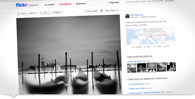 Un site internet incontournable pour s'inspirer en photo : Flickr