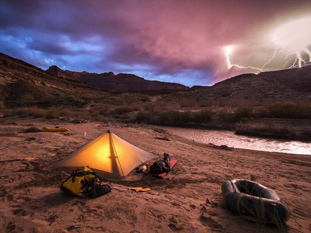 Stormy night, by Whit Richardson