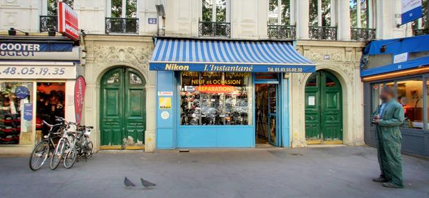 Boutique photo L'Instantané, à Paris, 11ème arrondissement © Google Map