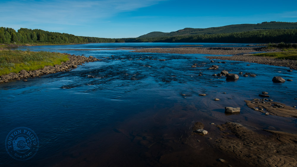 La douceur des paysages lapons... Storforsen, Laponie, Suède © Clément Racineux / Tonton Photo
