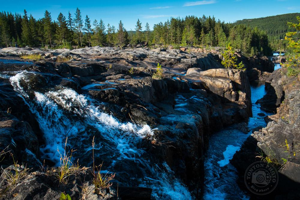 Magnifique paysage à proximité des rapides de Storforsen, Laponie, Suède © Clément Racineux / Tonton Photo