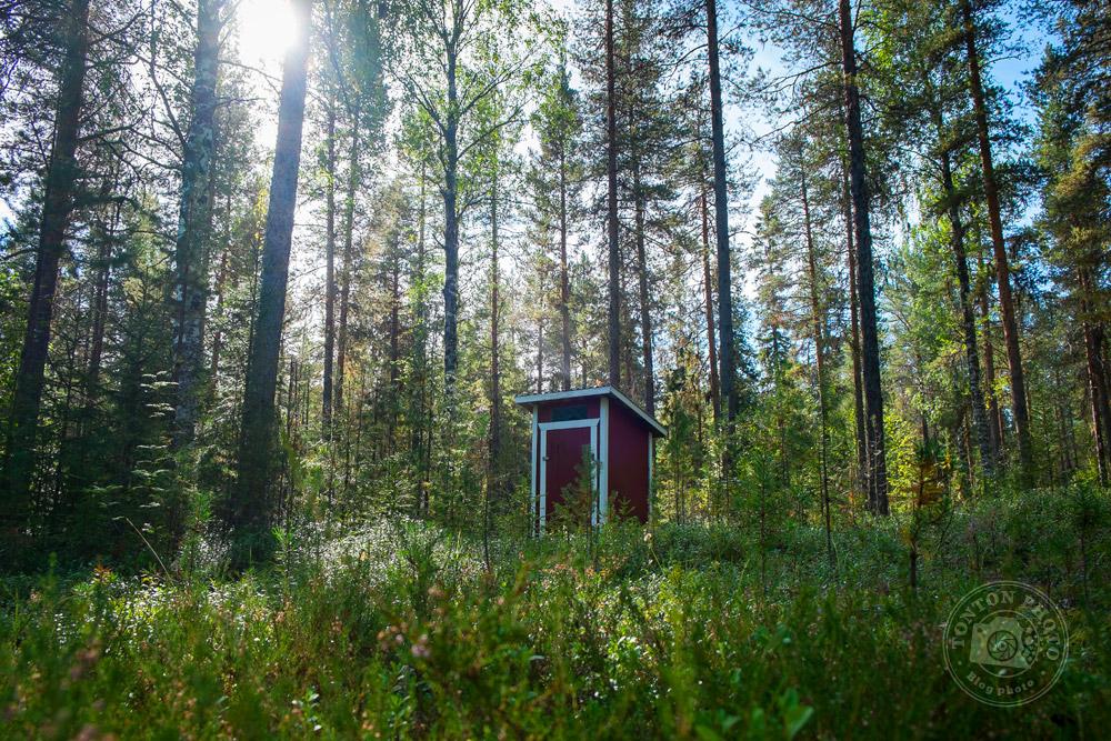 Les plus belles toilettes publiques du monde ;) Norbotten, Suède © Clément Racineux / Tonton Photo