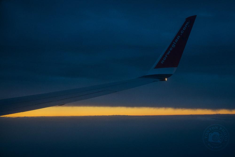 Dans le vol retour vers la France... Norbotten, Suède © Clément Racineux / Tonton Photo