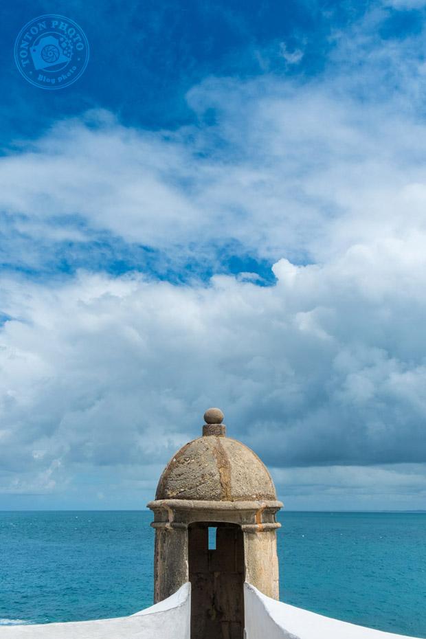 Vue sur la Baie de tous les Saints (Baia de Todos Os Santos) depuis le phare de Barra (Farrol da Barra), Salvador de Bahia, Brésil © Clément Racineux / Tonton Photo