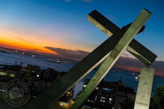 Vue sur la baie de Tous les Saints depuis le Pelourinho, Salvador de Bahia, Brésil © Clément Racineux / Tonton Photo