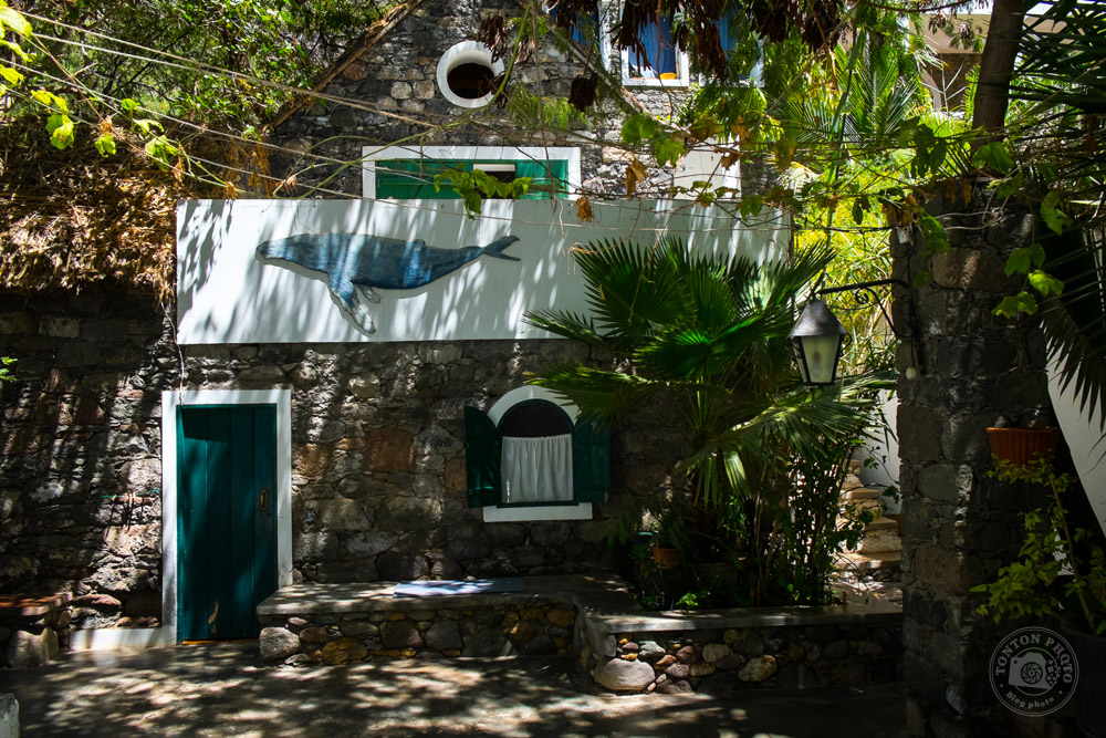 Auberge dans une vieille maison de pêcheur, Tarrafal, Santo Antão, Cap Vert © Clément Racineux / Tonton Photo