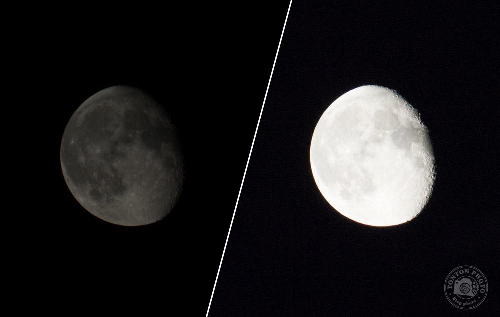Principaux écueil à éviter : sous-exposer ou sur-exposer la lune © Clément Racineux / Tonton Photo