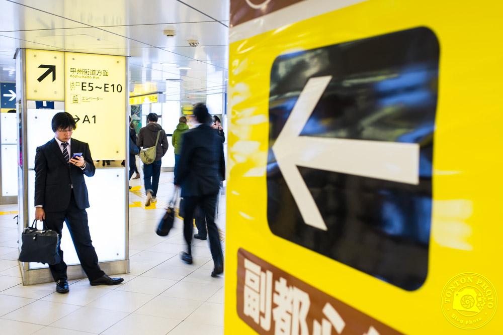 Dans le métro de Tokyo, Japon © Clément Racineux / Tonton Photo