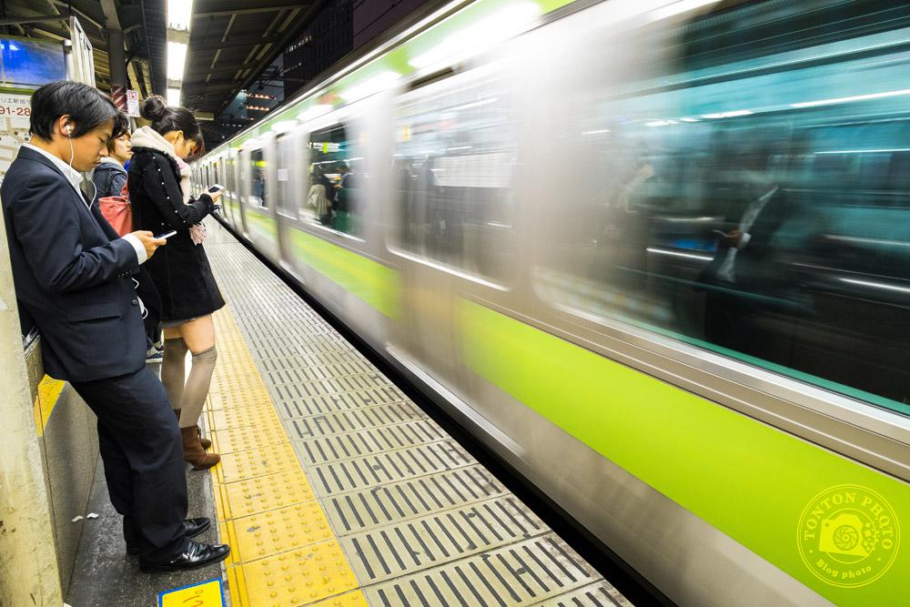 Dans la station de métro de Shinjuku, Tokyo, Japon © Clément Racineux / Tonton Photo