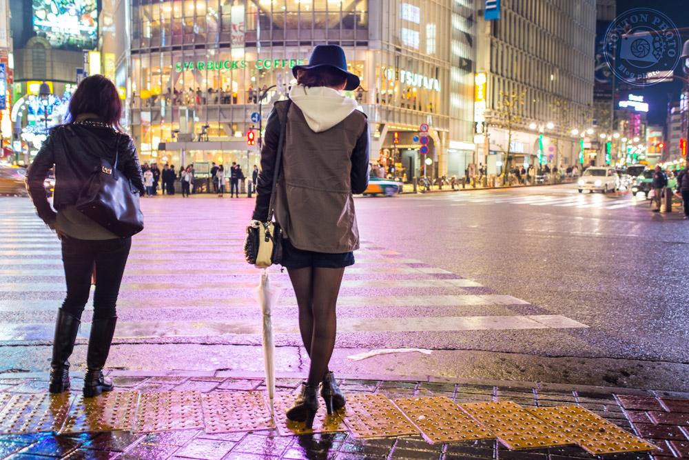 Dans le quartier animé de Shibuya, Tokyo, Japon © Clément Racineux / Tonton Photo