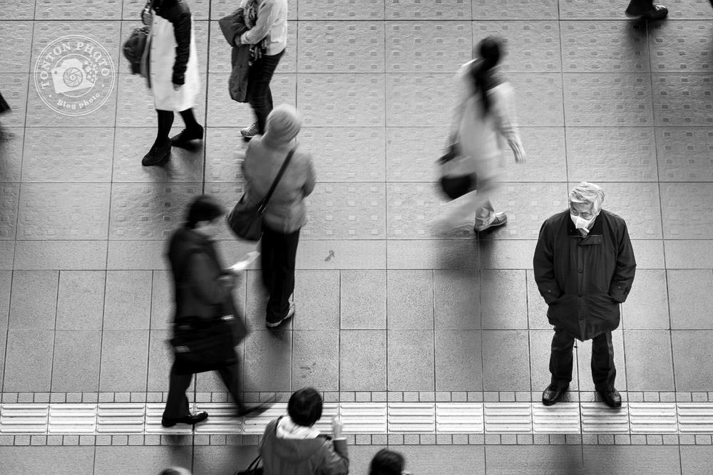 Pose longue dans la gare de Kyoto, Japon © Clément Racineux / Tonton Photo