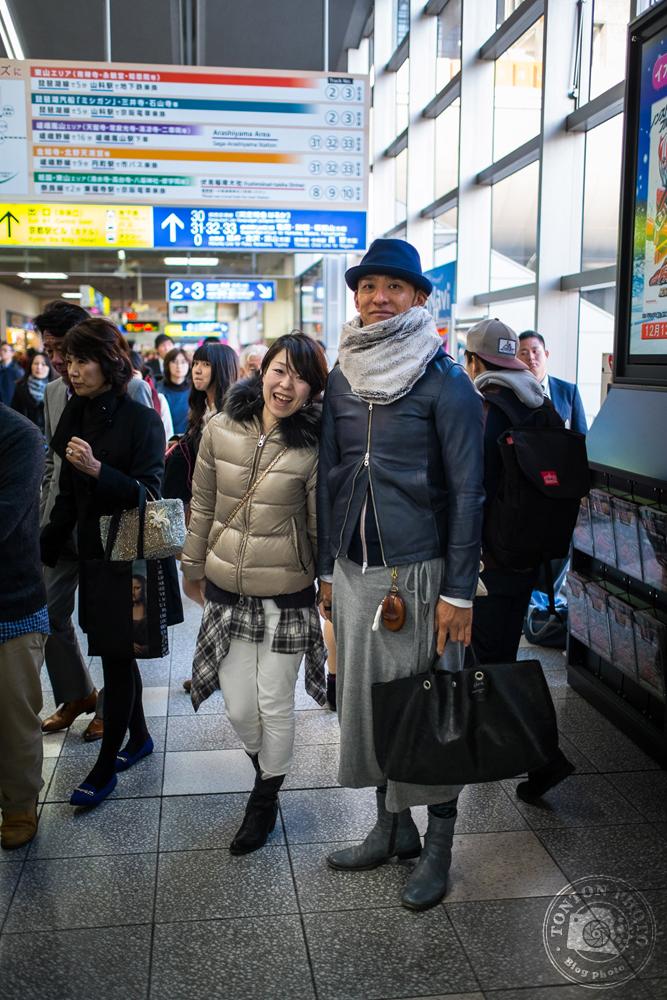 Dans la gare de Kyoto, Japon © Clément Racineux / Tonton Photo