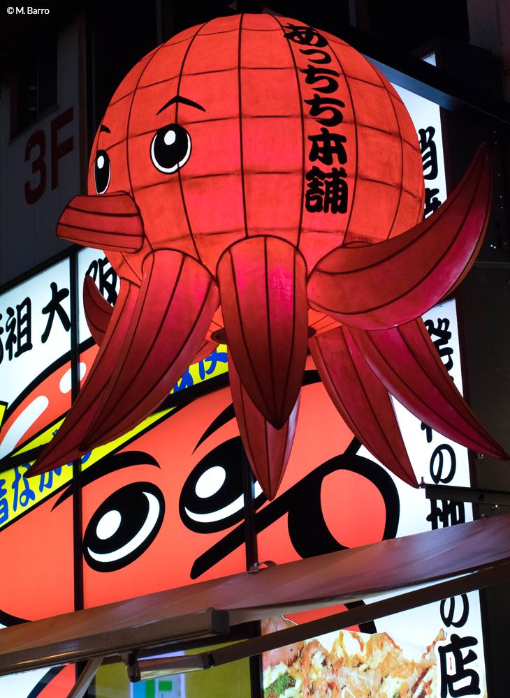 Enseignes lumineuses amusantes, Osaka, Japon © M. Barro
