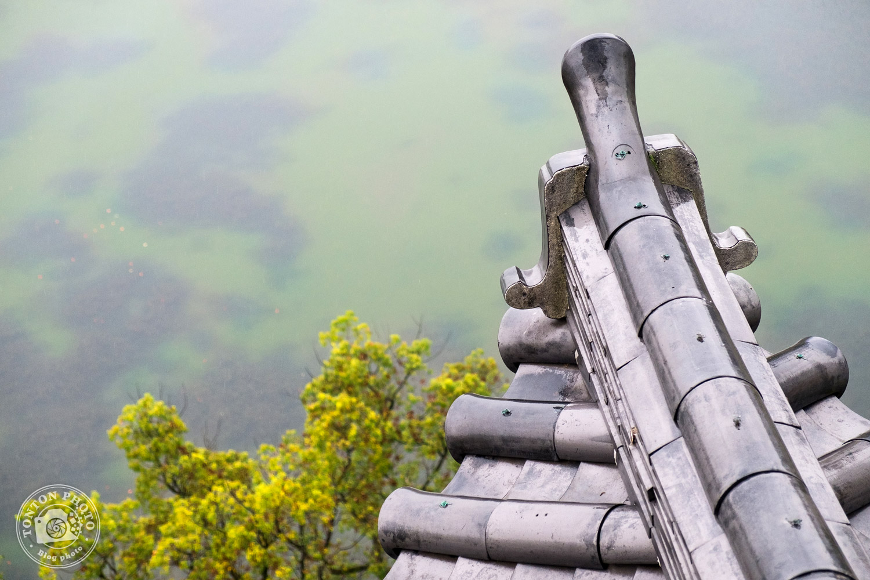 Vue depuis le sommet du Château de la carpe, Hiroshima, Japon © Clément Racineux / Tonton Photo