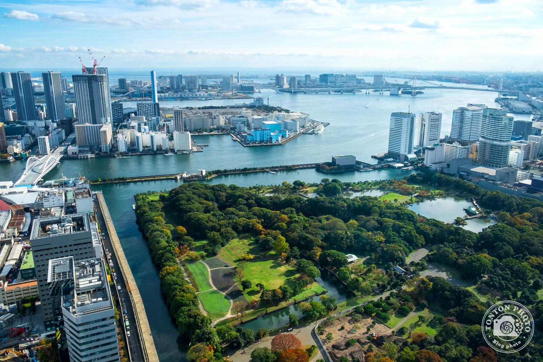 Point de vue sur Tokyo depuis une tour de Shiodome, Japon © Clément Racineux / Tonton Photo