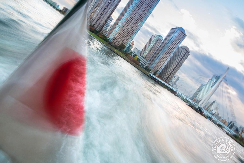 Sayônara le Japon ! Vue sur Tokyo depuis la rivière Sumida, Tokyo, Japon © Clément Racineux / Tonton Photo