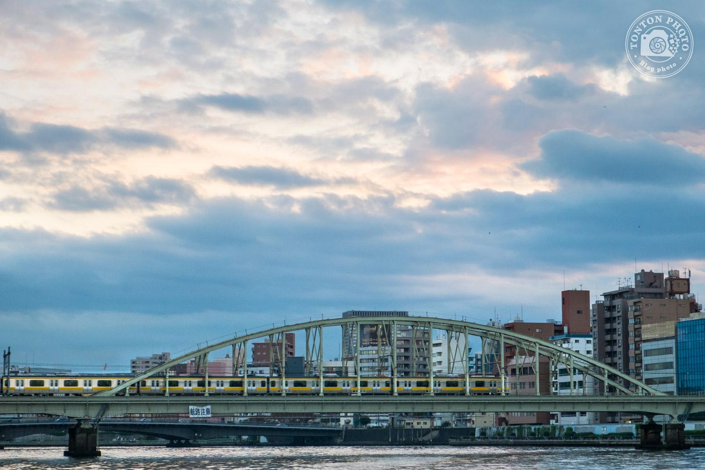 Vue sur Tokyo depuis la rivière Sumida, Tokyo, Japon © Clément Racineux / Tonton Photo