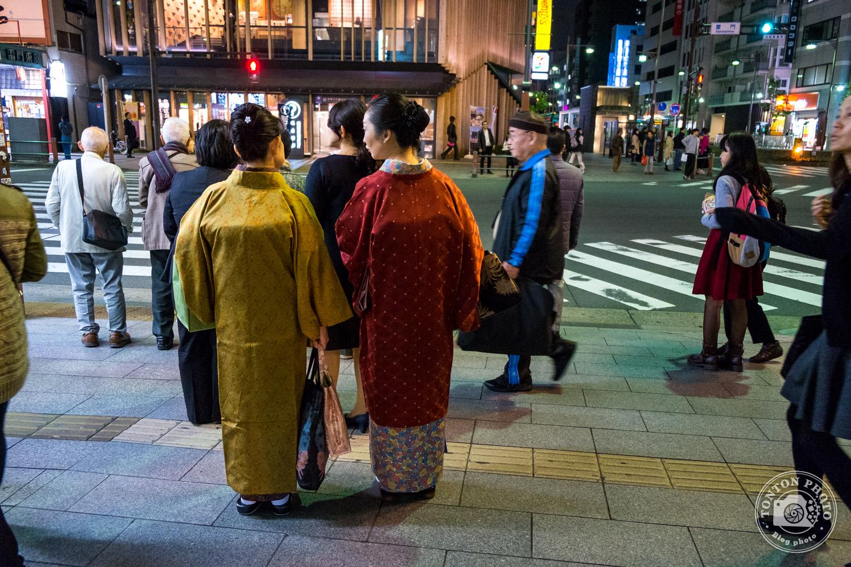 Dans le quartier d'Asakusa, Tokyo, Japon © Clément Racineux / Tonton Photo
