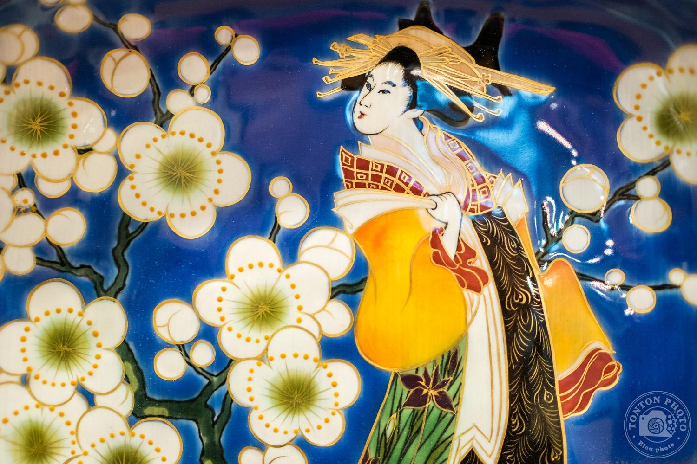 Faïence traditionnelle sur un étal du marché de Kyoto, Japon © Clément Racineux / Tonton Photo