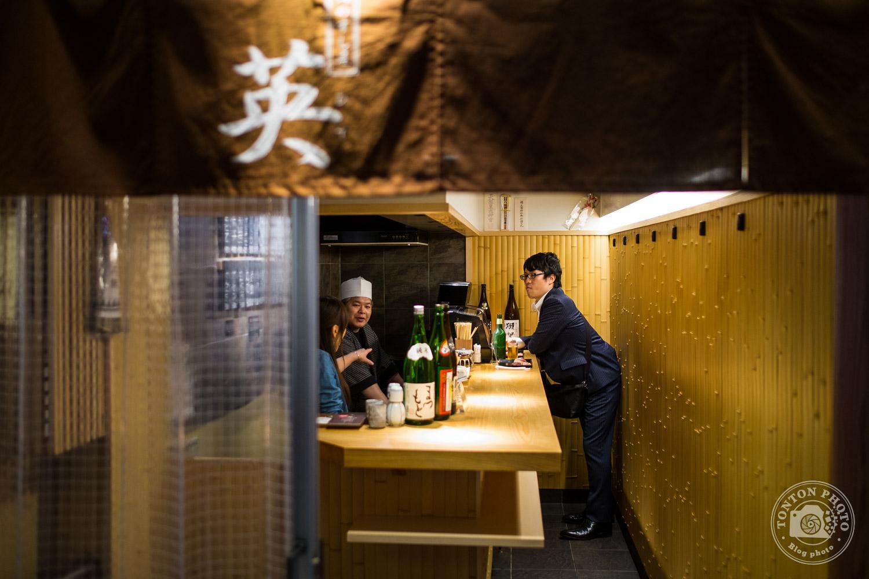 Au Japon les restaurants sont souvents petits. Kyoto, Japon © Clément Racineux / Tonton Photo