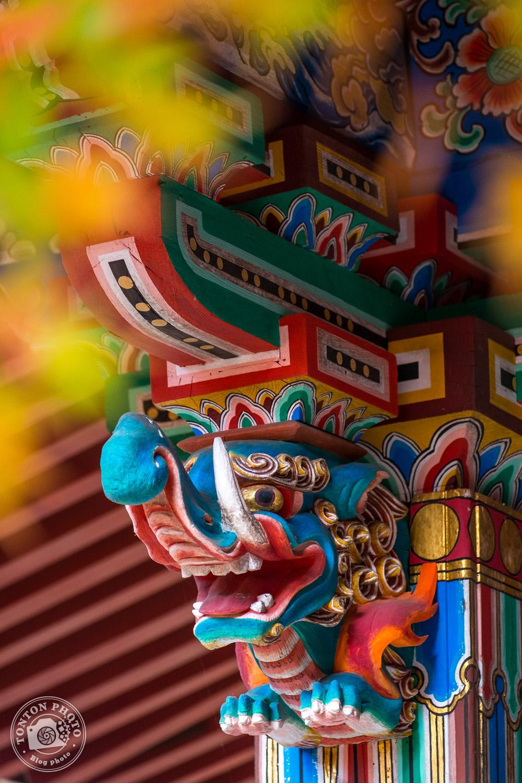 Détail de la charpente du temple Eikando, Kyoto, Japon © Clément Racineux / Tonton Photo