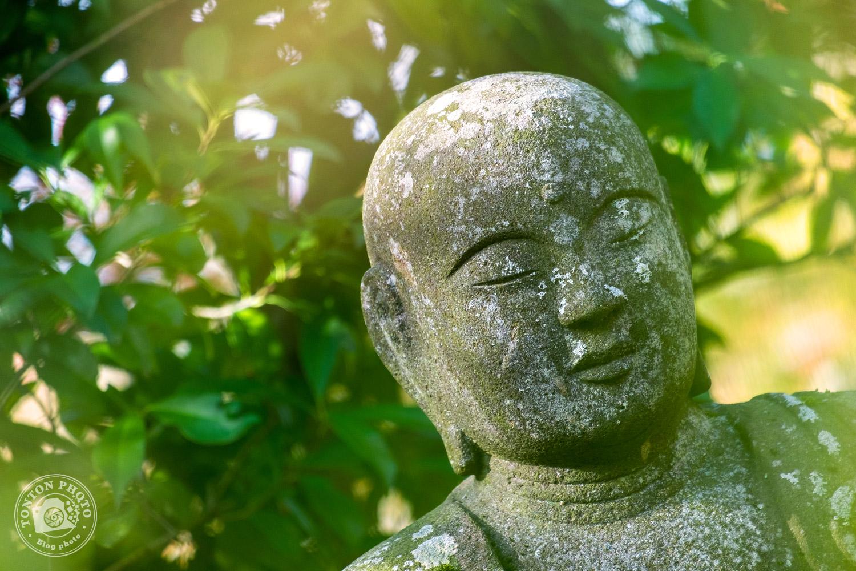 Statue bouddhique, temple Eikando, Kyoto, Japon © Clément Racineux / Tonton Photo