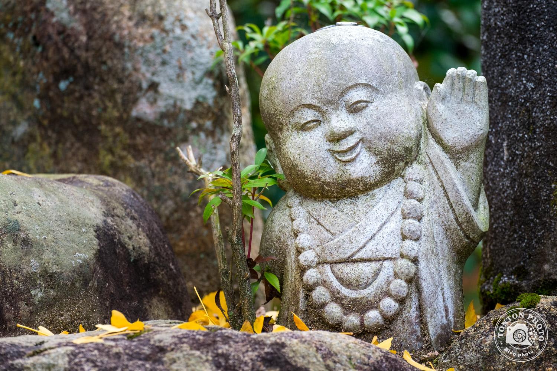 Jizo, temple Daisho-In, île de Miyajima, Japon © Clément Racineux / Tonton Photo