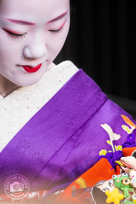 Portrait de geisha, quartier de Gion, Kyoto, Japon © Clément Racineux / Tonton Photo