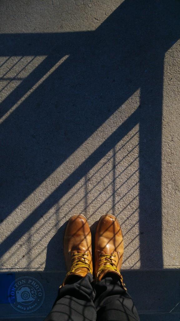 Test du photophone LG G4 : Jeu de lumières dans les escaliers. F/1.8 - 1/1000 - ISO 50 © Clément Racineux / Tonton Photo