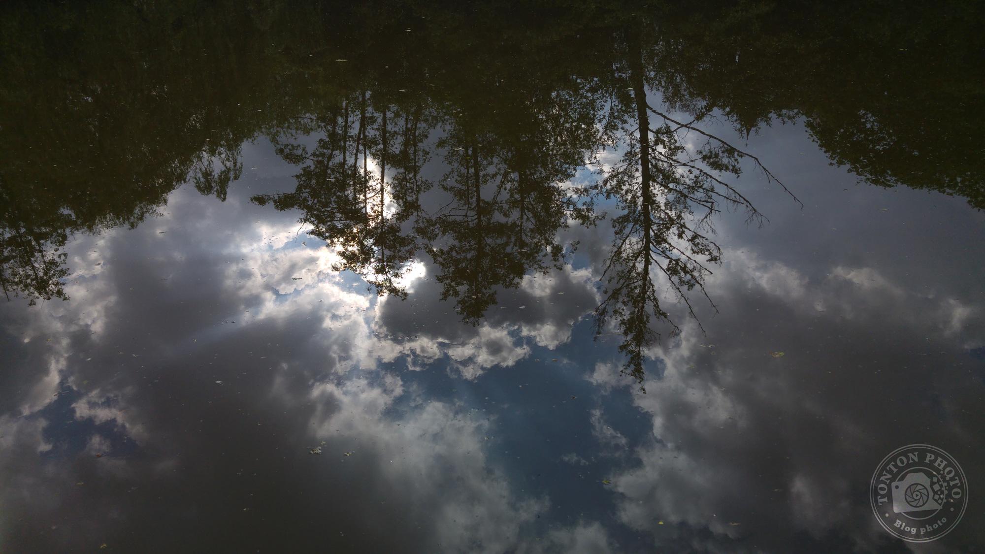 Test du photophone LG G4 : Sous-exposition volontaire pour donner un côté dramatique à ce reflet sur la rivière. F/1.8 - 1/1000 - ISO 50 © Clément Racineux / Tonton Photo