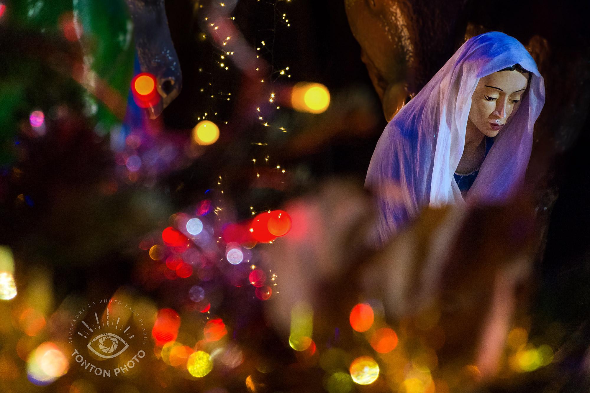 Crèche | Comment photographier pendant Noël et les fêtes de fin d'année ? © Clément Racineux / Tonton Photo