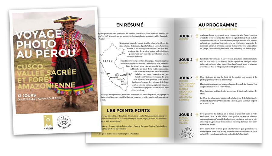 Voyage-photo au Pérou avec Tonton Photo, du 27 juillet au 08 août 2018 : téléchargez le PDF pour les détails et le programme !