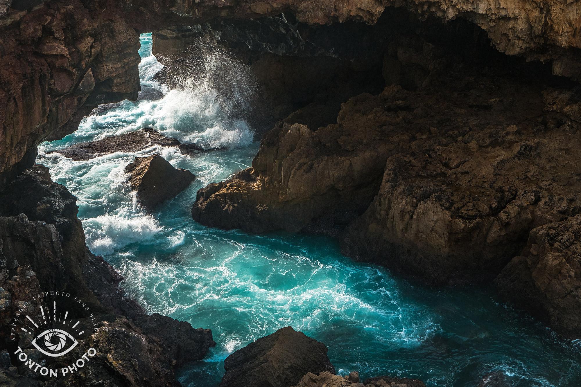 """Paysage : La bouche de l'enfer, """"Boca do Inferno"""", à Cascais, au Portugal © Clément Racineux / Tonton Photo"""