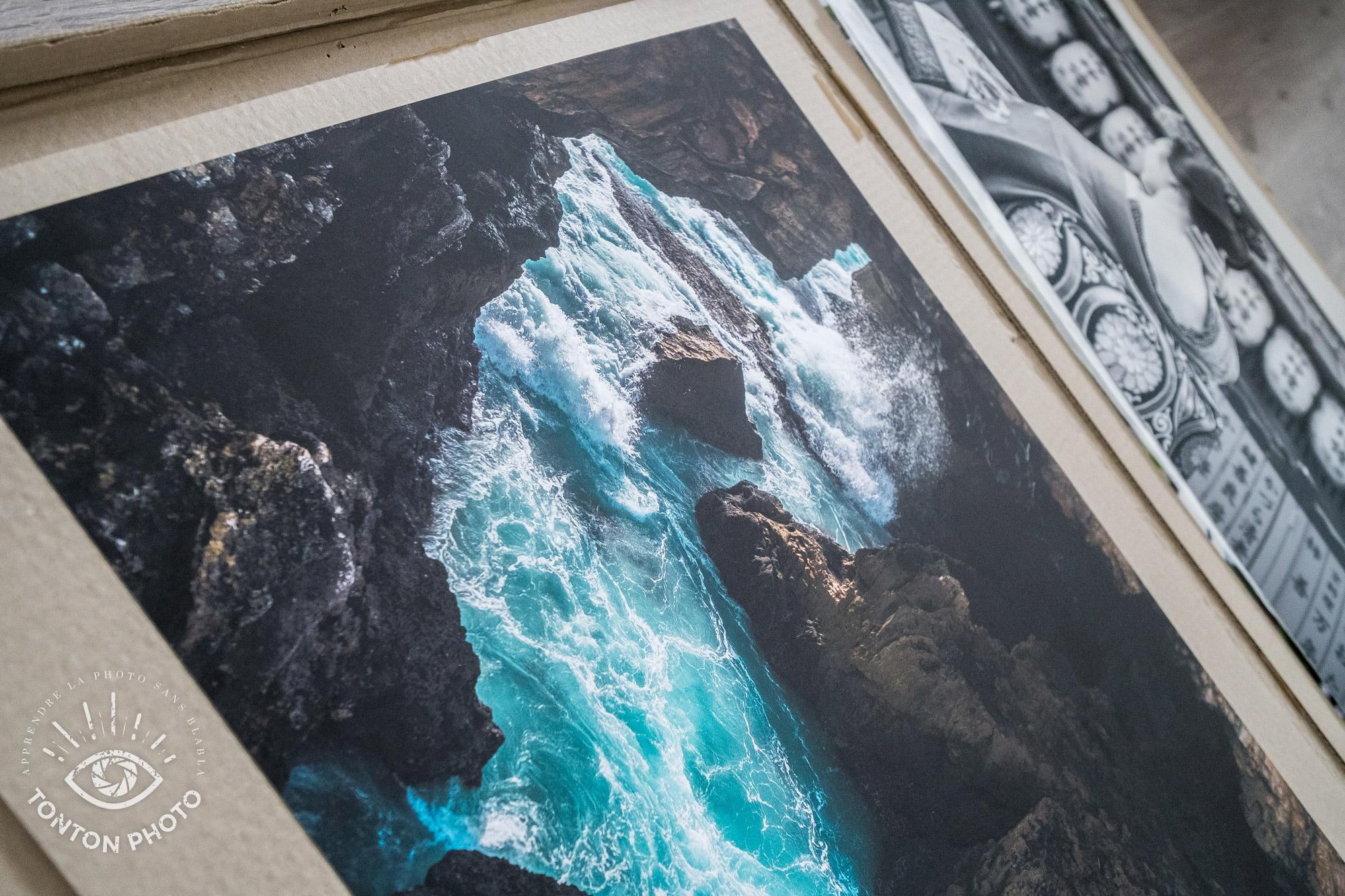 Test labophotos.fr : tirage d'art d'une photo de paysage sur papier Tecco Photo Mat 230g © Tonton Photo